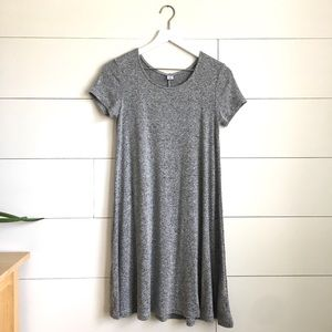 Old Navy Gray T-shirt dress heather gray stretchy